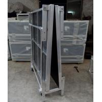 Folding Movable Stage Platform Performance Easy Moving Brown Black Manufactures