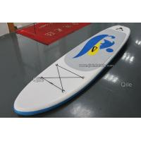 China Blue / Orange 3.2m Inflatable Sup Board Racing Paddle Boards For Surfing on sale