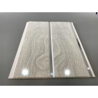 Quality PVC Wood Panels Peanut Pattern Groove Shape Size 250 × 7mm With High Strength for sale