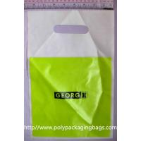 Buy cheap Customized Plastic Die Cut Handle Bags Promotional Carrier Bags from wholesalers