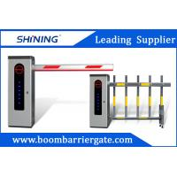 Outdoor Waterproof Road Boom Barrier Gate Automatic With LED Light Manufactures