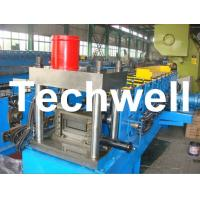 12 Forming Stations PLC Control System U Shape Roll Forming Machine for Steel U Purlin Manufactures