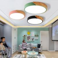 China Wood and metal ceiling Lights Fixtures For Indoor home Lamp (WH-WA-03) on sale