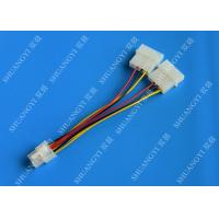 Quality 6 Pin PCIe to 2x Molex Power Cable - 6 Inches Dual 4Pin Molex Connector for sale