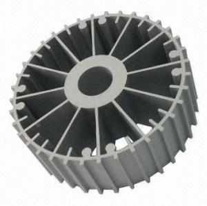 CNC Machining Aluminum Heatsink Extrusion Profiles 6063-T5 For Machines Manufactures