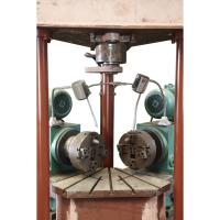 Pressure 7Mpa Elbow Beveling Machine Processing Size 22-32 Clamping Type Hydraulic
