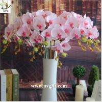 UVG China supplier make artificial flower arrangements in silk orchid flowers for sale Manufactures