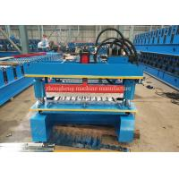G550 Mini Orb Roofing Corrugated Sheet Roll Forming Machine Fast Speed Manufactures