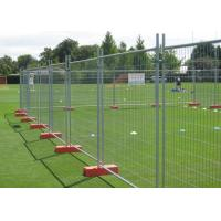 Safety Removable Steel Temporary Fencing 0.9x2.0 Meter Easily Assembled Manufactures