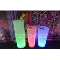 Street Lighted Flower Pots Outdoor Remote Control Glowing Plant Pots Manufactures