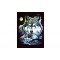 30x40cm Cool Wolves 3D Lenticular Poster For Gifts And Home Decoration Manufactures