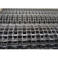 Buy cheap Steady Running Stainless Steel Flat Wire Mesh Conveyor Belt For Drying Line from wholesalers