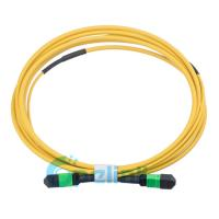Round Type Single Mode Fiber Patch Cable , Optical Jumper Cord For High Density Wiring System Manufactures
