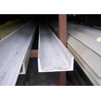 304 U Stainless Steel Channel Cold / Hot Rolled With Strong Corrosion Resistance Manufactures
