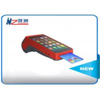 All In One Smart Handheld POS Terminal / Point Of Sale For Android , Red Manufactures