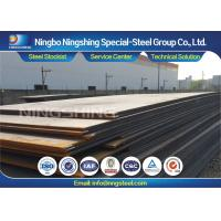 Black AISI A283 Hot Rolled Structural Steel Flat Thickness 10-120mm Manufactures