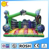 Park Party Commercial Inflatable Bounce House For Entertainment Manufactures