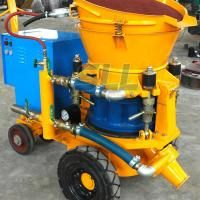 China 3m3 Per Hour Refractories Cement Spray Machine , 4KW Small Concrete Pump on sale
