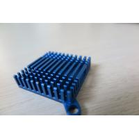 Blue Anodized Cold Forge CNC Machining Aluminium Heat Sink Profiles for Cooling System​ Manufactures