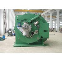 Small Solid Remove Vacuum Leaf Filter / Green Centrifugal Solid Liquid Separator Manufactures