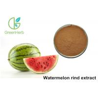 Non - Irradiated Plant Extract Powder Watermelon Rind Extract Powder Manufactures