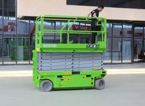 Max.Lifting height 13m electric man lift with load capacity 320kg Manufactures