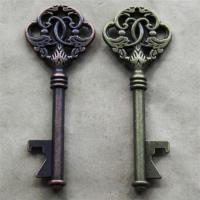 Quality Personalized Promotion Gift Innovative Wedding Favor Antique Key Shape Beer for sale