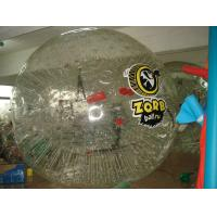 Quality Double Exciting Inflatable Walking Ball , Bang Bead Inflatable Zorb Ball for sale