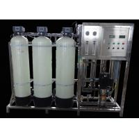 China 1000L/H Reverse Osmosis Water Filtration Treatment System With Water Softener on sale