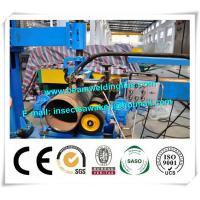 Column And Boom Weld Manipulator Pinch Welding Rotator For Flange / Pipe Manufactures