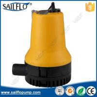 China Sailflo yellow color 12V boat submersible bilge pump for marine/boat on sale