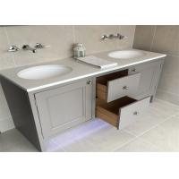 Custom Bathroom Vanity Cabinets Paint Surface Granite Countertop Including Basin Faucet Manufactures
