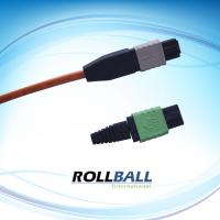 Telecommunication Networks APC Fiber Optic Patch Cord With 24 Cores MPO PC Manufactures