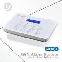 Gsm Wireless Alarm System LCD Display And Touch Keypad Multi-language Option Manufactures