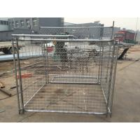 Name: Galvanzied Steel Wire Mesh Rubbish Cage for your construction site Manufactures