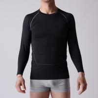 Gym T-shirt,  seamless OEM man sports Shirt,  long sleeve,   XLLS003,  Functional underwear, Manufactures