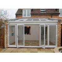 Customized Aluminium Frame Greenhouse Patio Enclosure Designs For Garden Manufactures
