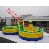 Inflatable Castle Slide  Inflatables and Bouncy Castle Jumping castle China Inflatables Inflatable obstalce course Manufactures
