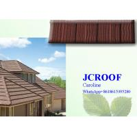 Strong and popular  NIGERIA stone roofCorrugated Metal Roofing Sheets matching 8 accessories Manufactures