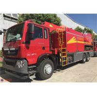 Quality Two Seats Fire Pumper Truck , USB Interfac Audio Player Fire Rescue Vehicles for sale