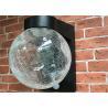 Crackle Glass Garden Globe Solar Lights , Crackle Globe Solar Outdoor Stake Lights Manufactures