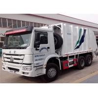 SINOTRUK HOWO 6X4 Garbage Compactor Truck 16 cbm 10 Wheels For Waste Collect Manufactures