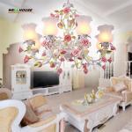 2017 New arrival Hot sale chandeliers genuine vintage chandelier handmade golden Manufactures