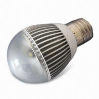 LED Bulb Light with 5W Power Consumption and E27 Lamp Cap Manufactures