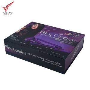 Custom Logo Printing Hair Straightener Packaging Box Pantone Color Printing Manufactures