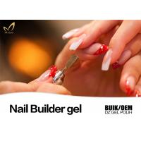 Durable Pink Builder Gel For Nails , Healthy Nail Salon Gel Nail Polish Manufactures