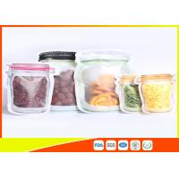 Buy cheap S / M / L Size Custom Jar Stand Up Zipper Stand Up Pouch Packaging Dry Food Packing from wholesalers