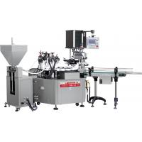 Automatic cosmetic Glass Bottle jar Liquid Filling Machine / Packing Machine/Filling capping machine Manufactures