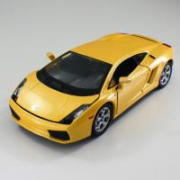 China Die cast Alloy Yellow Car Custom Scale Model Cars Miniature Car Dealer C2413 on sale