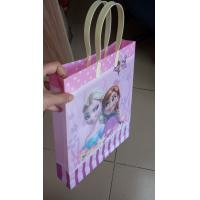China Colorful 3D Lenticular gift bag 3D Print plastic bag with Custom Logo on sale